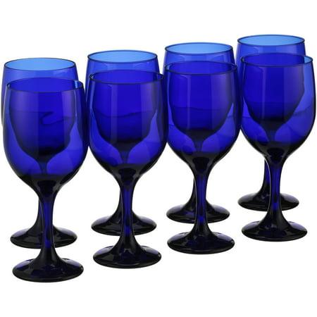 Libbey® Cobalt Blue Goblets 8 pc Box