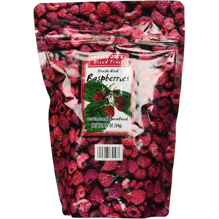Trader Joe's Freeze Dried Raspberries Unsweetened & Unsulfured (Freeze Dried Raspberries)