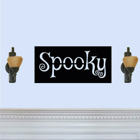 Simple Cheap Halloween Decorations (Simple Spooky Halloween Themed Laser Cut Solid Steel Decorative Home Accent Wall Sign)