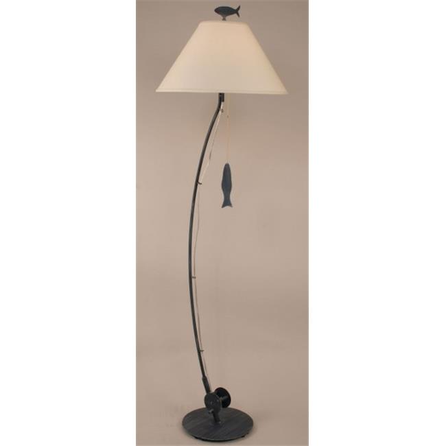 Coast Lamp 12-B24C Sea Fishing Pole Floor Lamp