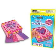 Sticky Mosaics Heart Treasure Box