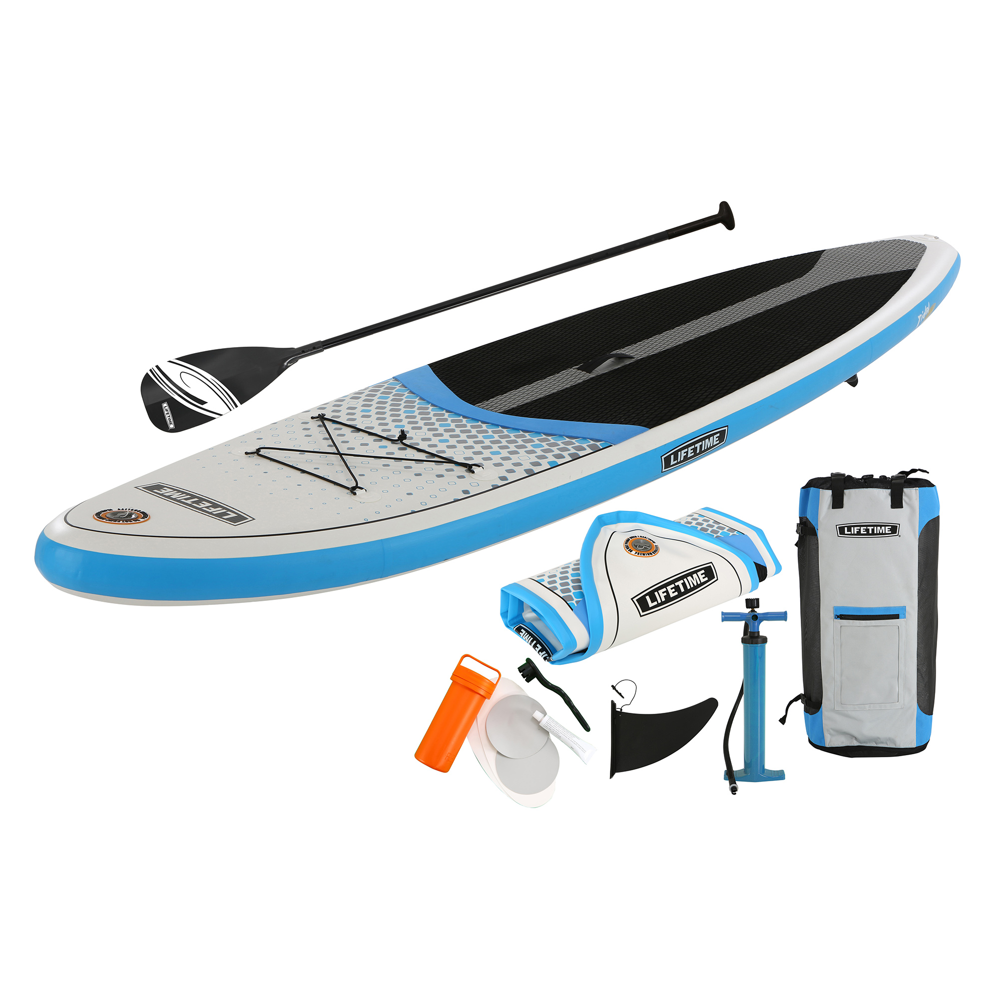 Lifetime Tidal Inflatable Stand-Up Paddleboard, w Paddle, 90802