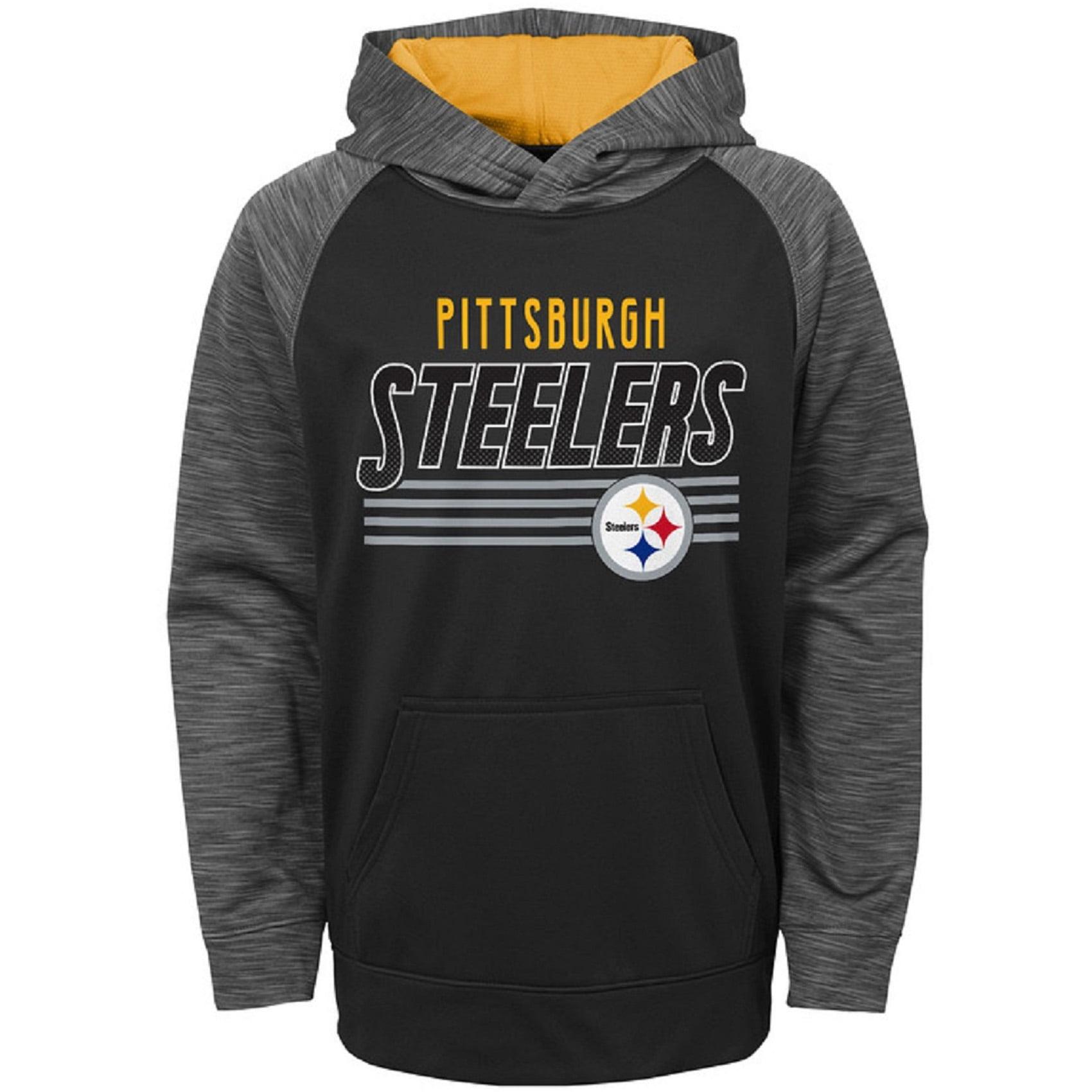 Toddler Black Pittsburgh Steelers Fleece Hoodie