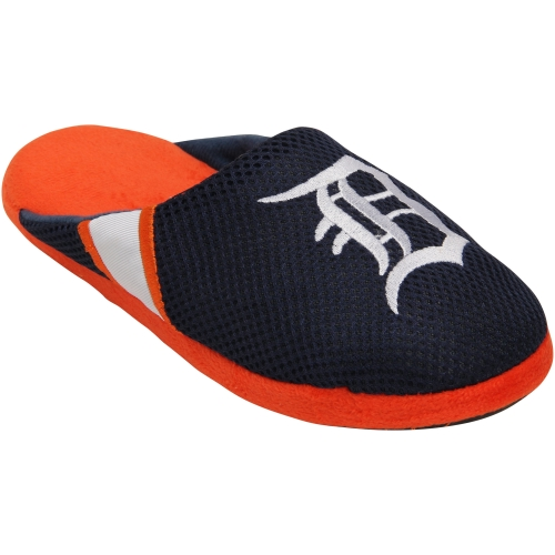 Detroit Tigers Jersey Slippers - Navy