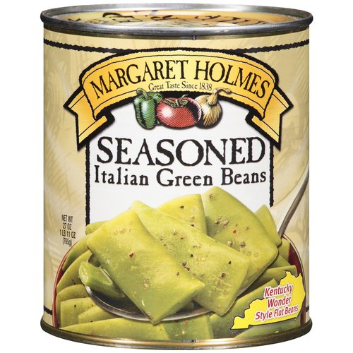 Margaret Holmes Seasoned Italian Green Beans, 27 Oz