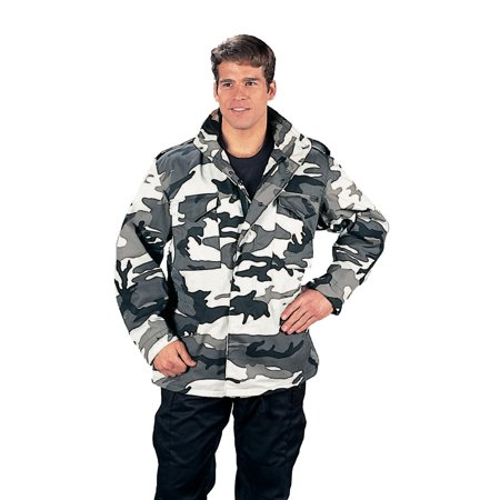 - City Camouflage M-65 Field Jacket - X-Large