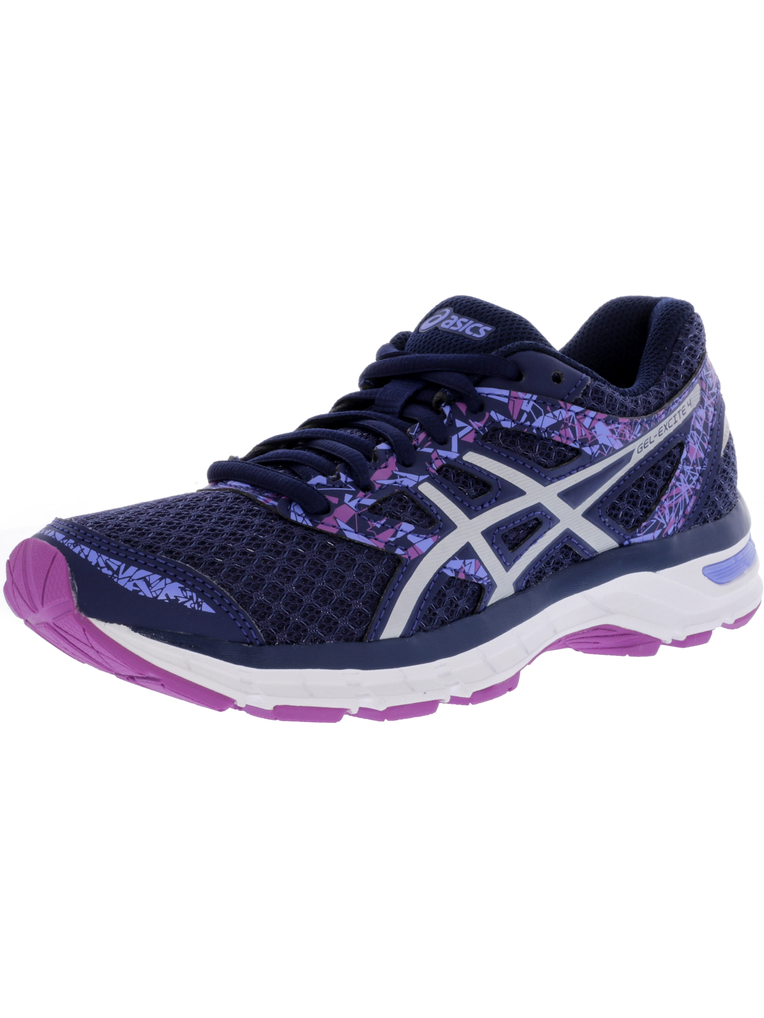 ASICS Asics Women's Gel Excite 4 Indigo Blue Orchid Above the Knee Tennis Shoe 10.5M