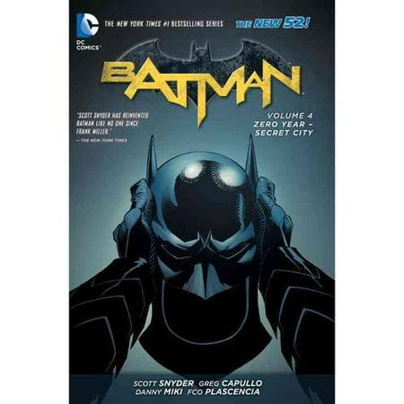 Batman 4: Zero Year-Secret City by
