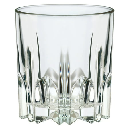 Bartender's Choice Excalibur Old Fashioned Drinking Glass, Set of 4, 10 (Glasses For 13 Year Olds)