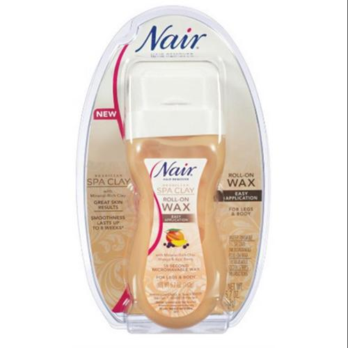 Nair Hair Remover Spa Clay Roll-On Wax - 5.7 Oz