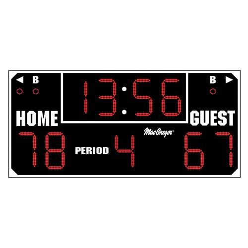 Tacvpi Macgregor Ultimate Scoreboard Black