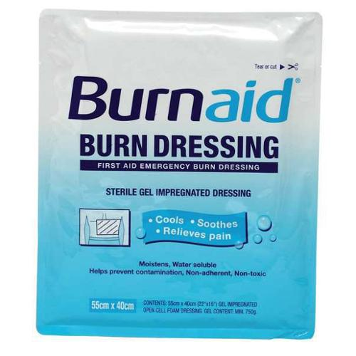 BURNAID 3068 Burn Dressing,Sterile,White