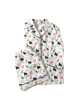 4c97175be1 Product Image Fashion Culture Cat Print Pajama Lounge Shorts   Top Set