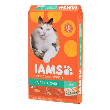 Iams ProActive Health Hairball Care Chicken Dry Cat Food, 16 Lb