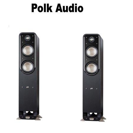 Polk Audio Signature S55 American HiFi Home Theater Tower Speaker (1 Pair)  Bundle