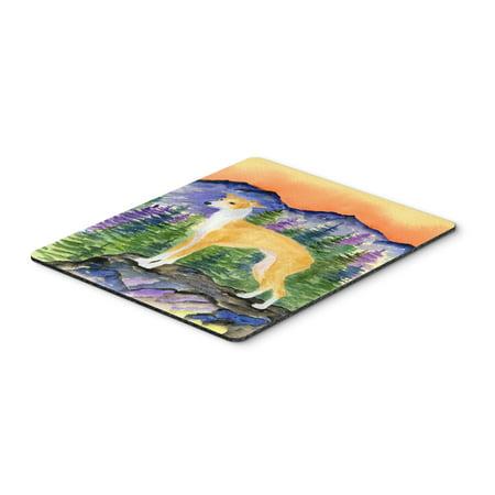 Italian Greyhound Mouse Pad / Hot Pad / Trivet
