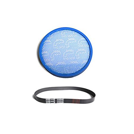 Hoover Model UH72600 WindTunnel Max Mult-Cyclonic Bagless Upright Washable Primary Blue Sponge Filter With One Rewind Plus /MS...12.8X457 Belt
