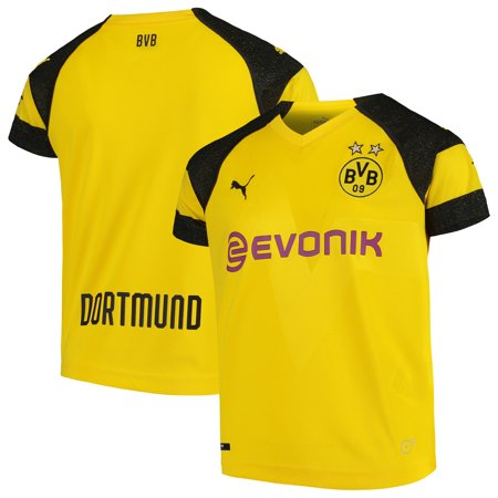Borussia Dortmund Puma Youth 2018/19 Home Primary Replica Jersey - Yellow
