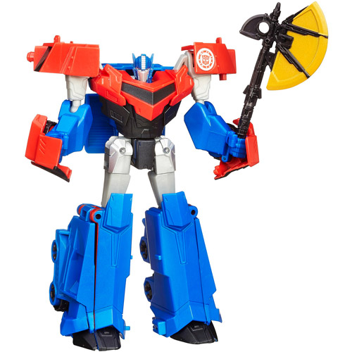 Transformers Robots in Disguise Warriors Class Optimus Prime Figure by Hasbro