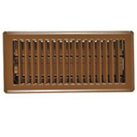 Imperial Manufacturing RG0257 Floor Register Brown 4 x 12 In. - image 1 of 1