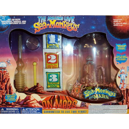 Big Time Toys Sea Monkeys On Mars Deluxe Walmart Canada
