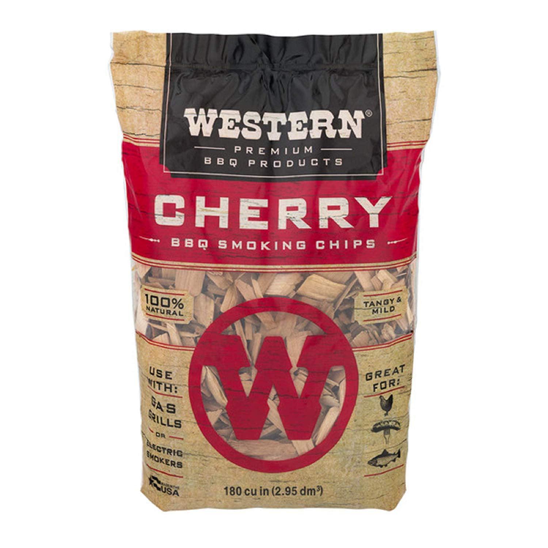 Western Premium BBQ Products Cherry Smoking Chips, 180 cu inch