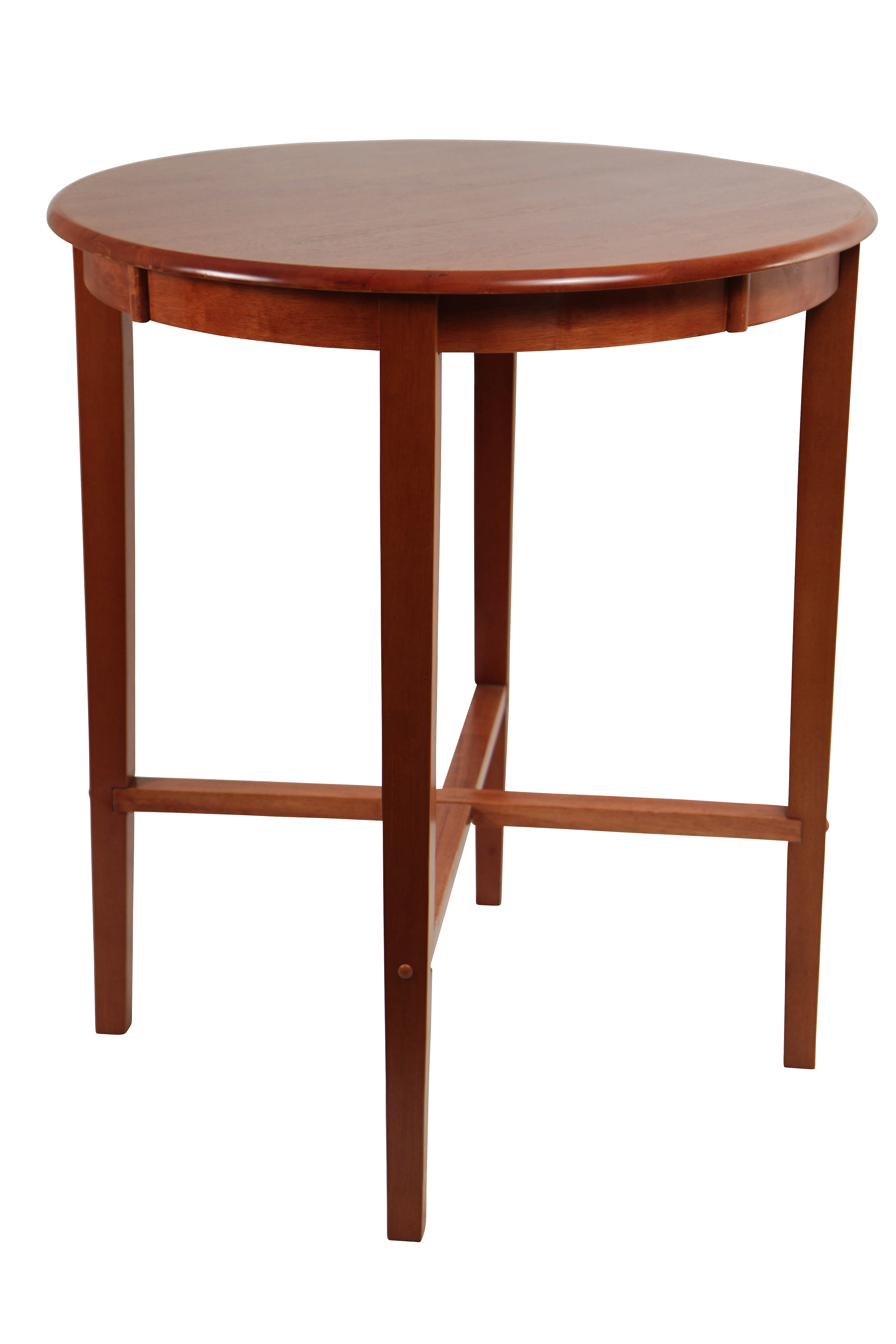 """Boraam 42"""" Round Wood Top Pub Table in ES Light Cherry by Generic"""