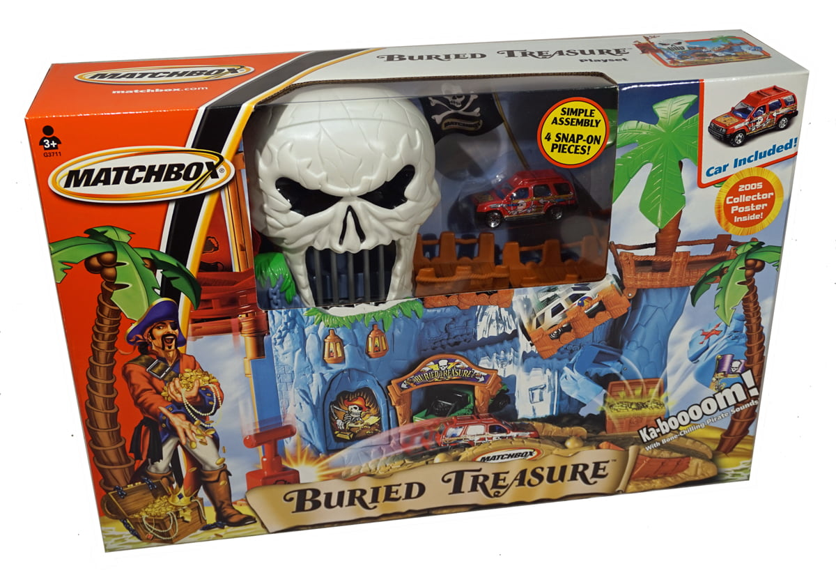 Matchbox Buried Treasure Playset by Mattel