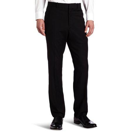 Perry Ellis Mens   Solid Slim Fit Dress Pants