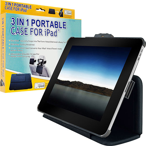 TG 3-in-1 Portable iPad Case - Great for Travel (72-4984)