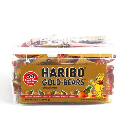 Haribo Gold Bears Tub 22.8 oz each (1 Item Per Order, not per case)](Haribo Gummi Bears)
