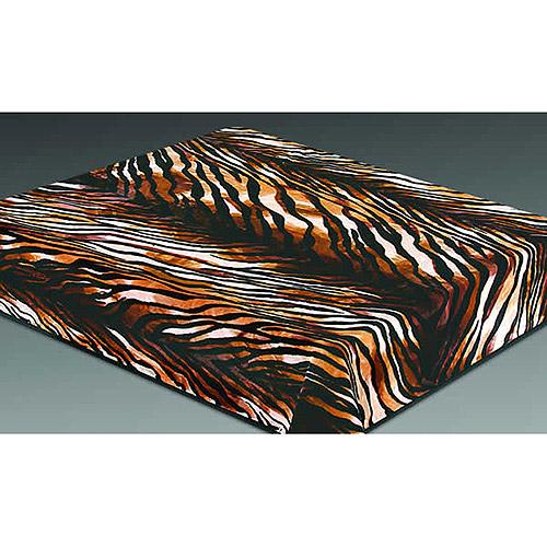 Wildon Home  Acrylic Mink Tiger Skin Blanket