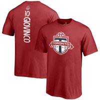 Sebastian Giovinco Toronto FC Fanatics Branded Youth MLS Backer T-Shirt - Red