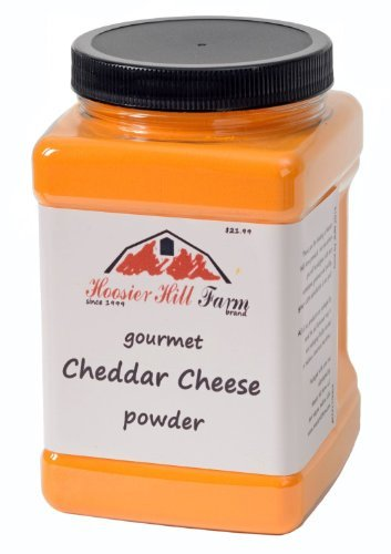 Hoosier Hill Farm Cheddar Cheese Powder, Cheese lovers 2.5 lb. size by Hoosier Hill Farm
