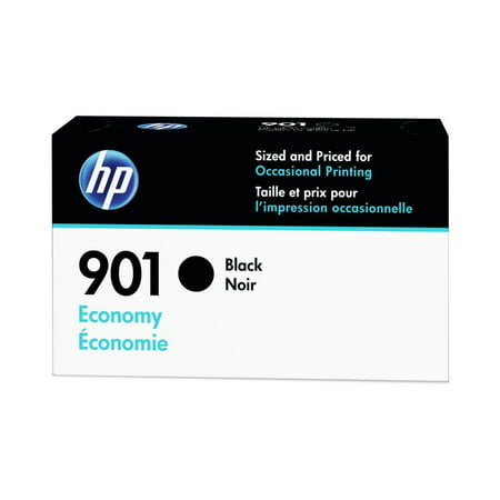 HP 901 Economy Black Original Ink Cartridge, 190 (Rb2132 901 52)