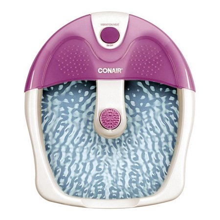 Conair Foot Spa Massager, Bath With Vibration And Heat Warmer Feet Pedicure Therapy, 1 Ea
