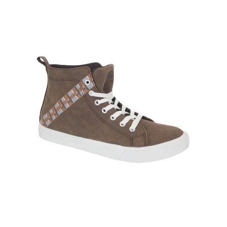 Star Wars Chewbacca Mens High Top - Star Wars Shoes Mens