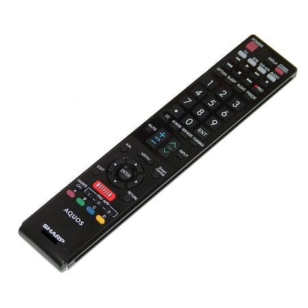 OEM Sharp Remote Control: LC52LE640U, LC-52LE640U, LC60C6400, LC-60C6400, LC60C6400U, LC-60C6400U