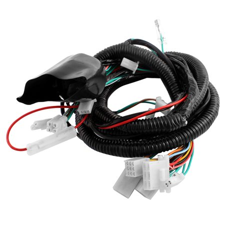 Motorcycle Ultima Complete System Electrical Main Wiring Harness for on fiber optic tubing, exhaust tubing, dryer vent tubing, coil tubing, flexible conduit tubing,