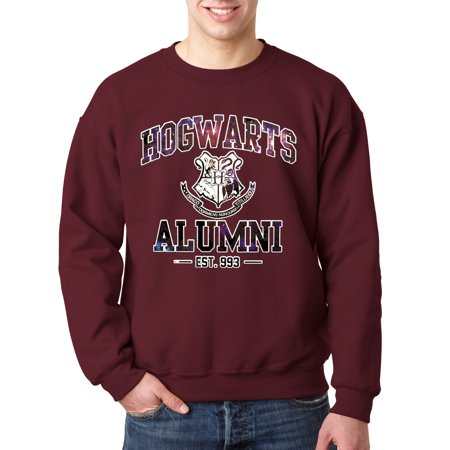 New Way 214 - Crewneck Hogwarts Alumni Galaxy Harry Potter Sweatshirt
