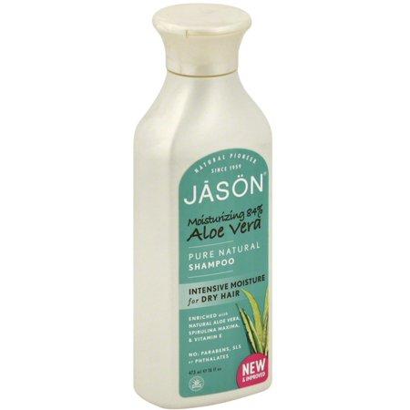 Jason Aloe Vera 84  Hair Smoothing Shampoo 16 Oz