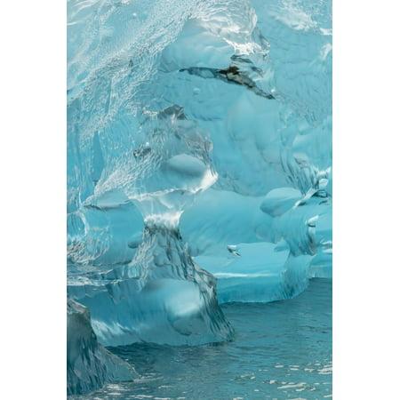 USA, Alaska, Endicott Arm. Detail of iceberg shapes. Print Wall Art By Jaynes (Shape Of Usa)