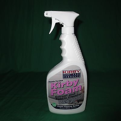 Genuine 22oz Kirby Pet Stain & Odor Spray Bottle Foam Carpet Fabric Cleaner
