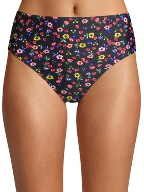 Cyn & Luca Juniors' Hannah Best Buds High Leg Swimsuit Bottom
