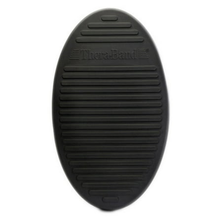 Stability Trainer (TheraBand Balance and Stability Trainer, Black Inflatable Pad, Extra Soft, Advanced Level 1 )