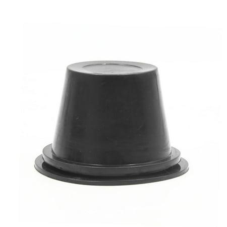 2Pcs 55mm Inner Dia Rubber Car Headlight Fog Light Housing Seal Cap Dust Cover - image 2 of 4