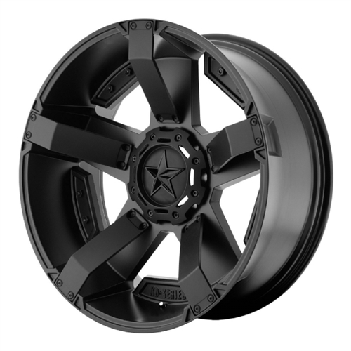 Wheel Pros XD811 Rockstar II, 20x9 with 6 on 135 and 6 on 5.5 Bolt Pattern - Matte Black XD81129067718