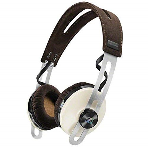 Sennheiser 507398 On Ear wireless Headphones with integrated microphone, HD1 On Ear Wireless Ivory, White