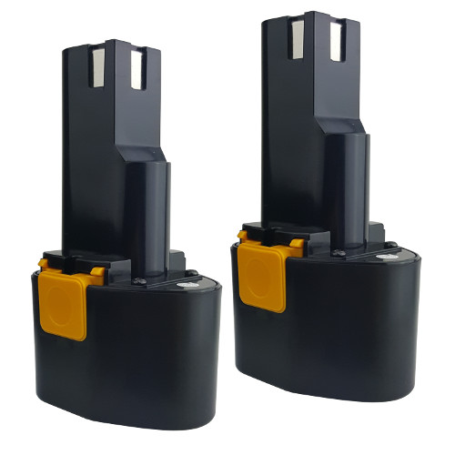 2 Batteries for 9.6V 9.6volt 3.0AH Power Tools Battery for MILWAUKEE by Tank Brand