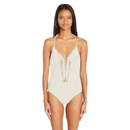3cac38eb352 Billabong - Billabong Women's Hippie Hooray One Piece Swimsuit, Seashell,  SZ :Medium - Walmart.com